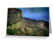 Chevin Surprise View  Greeting Card