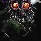 Legend of Zelda Majora's Mask Dark Link by barrettbiggers