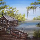 Our Fishin' camp   by Anne Thigpen