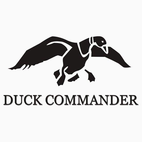 Duck Commander Logo White Duck commander by riskeybr