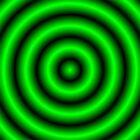 Green 3D Hoops by Sookiesooker
