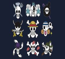 The Straw Hat Crew's Jolly Roger Kids Clothes