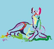 Horse - foal - Sweetie by Go van Kampen