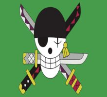Roronoa Zoro's Jolly Roger Post Time Skip by takandre