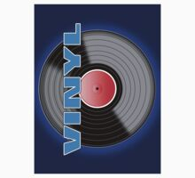Vinyl LP Record Logo Sticker by Ra12