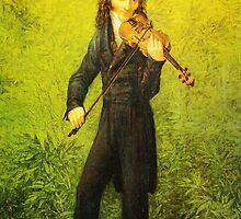 Kersting Der Geiger Nicolo Paganini by Adam Asar