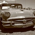 Route 66 Classic Car by Frank Romeo