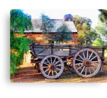 Outback Australian Scene Canvas Print