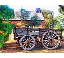 Outback Australian Scene Photographic Print