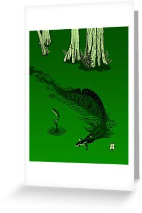 Swamp Dragon by alaskanime