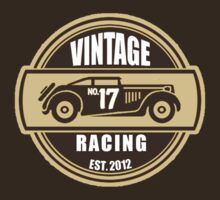 No.17 Vintage Racing Car Seal by No17Apparel