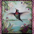 Hummingbird by SurfCityArt