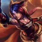 Ahri LOL by gleviosa