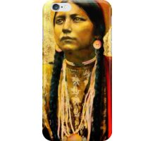 Lakota Maiden  iPhone Case/Skin