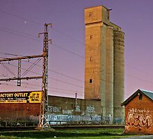 The Grain Tower at Anstey by Daniel House