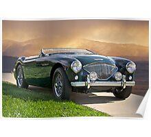 19XX Austin-Healey Sports Car Poster