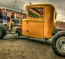 Yellow Truck Rod by Bassbro