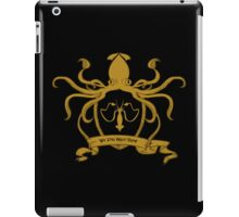 We do not sow iPad Case/Skin