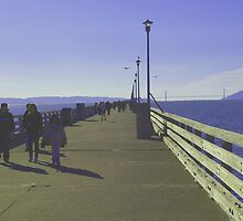 Sunday Afternoon – Berkeley Pier by photoartful