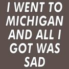 I Went To Michigan And All I Got Was Sad by Mister Pepopowitz