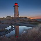"""Safe Haven - Peggy's Cove Lighthouse by Michael """" Dutch """" Dyer"""