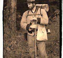 Confederate Soldier by Nicole  Scholz