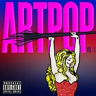 ARTPOP (Lady Gaga album artwork drawing, inspired by Roy Lichtenstein) by AlliVanes