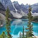 Moraine Lake by Lynn Bolt