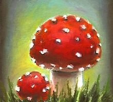 Mushrooms by tanyabond