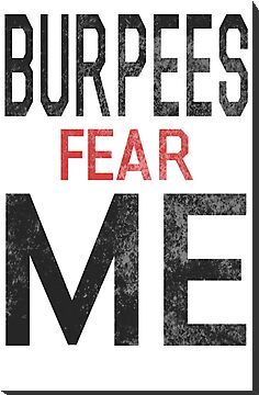 Burpees Fear Me by Look Human