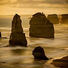 Twelve Apostles Sunset by Kimmo Savolainen