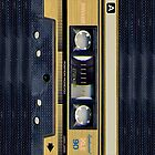 Maxell Gold cassette tape iphone 5, iphone 4 4s, iPhone 3Gs, iPod Touch 4g case by pointsalestore Corps