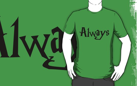 Always Harry Potter Severus Snape by cjcandhm