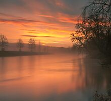 Another Lazonby Sunrise by Brian Kerr
