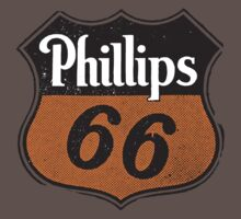 Phillips 66 Gas Station Logo  by BUB THE ZOMBIE