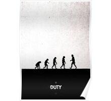 99 Steps of Progress - Duty Poster