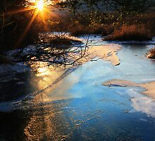 River Ice at SunDown by Nazareth