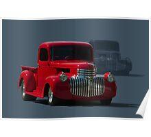 1946 Chevrolet Pickup Truck Hot Rod Poster
