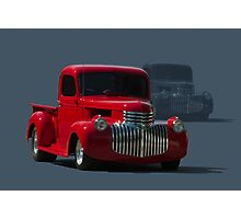 1946 Chevrolet Pickup Truck Hot Rod Photographic Print