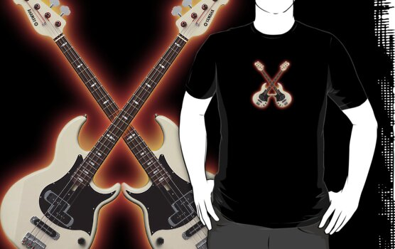 Double waite bass yamaha T shirt by goodmusic