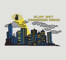 Slap bet Commissioner Gordon by Tardis53