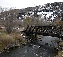 Animas River Bridge by jessicacbarker