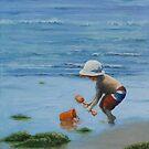 Beach Baby by Michael Beckett