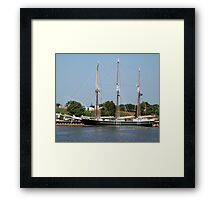 S/V Denis Sullivan - Bay City - Tall Ship Celebration (2010) Framed Print