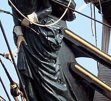Bounty II (Figurehead) - Bay City - Tall Ship Celebration (2010) by Francis LaLonde