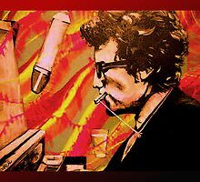 """Bob Dylan"" by Kevin J Cooper"