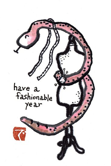 2013 The Year of the Snake (#6) by dosankodebbie