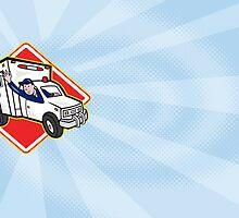 Paramedic EMT Ambulance Driver by patrimonio