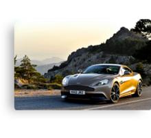The new Aston Martin Vanquish ... Canvas Print