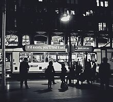 Swanston Street Tram by Daniel Fisher